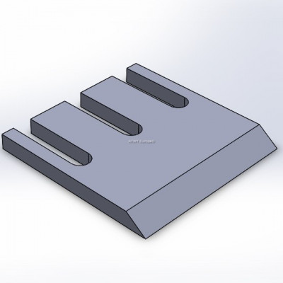 Couteau adaptable Doppstadt series DH, 36° 220x220x20mm